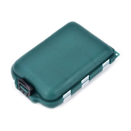 fishing tackle box 10 compartments storage case fishing lure accessories tools K