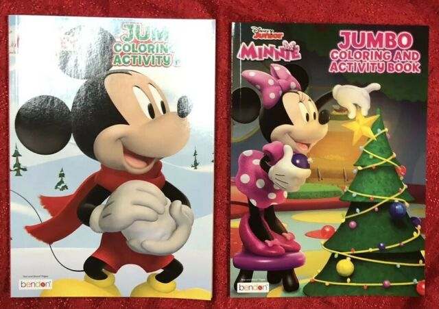 - Disney's Mickey Minnie Mouse Halloween Coloring Book & Activity Pad For  Sale Online EBay