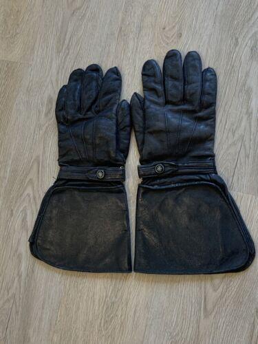 Vintage / Antique Gauntlet Motorcycle Gloves