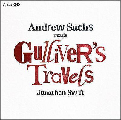Gulliver's Travels by Jonathan Swift (CD-Audio, abridged, 2012) NEW SEALED