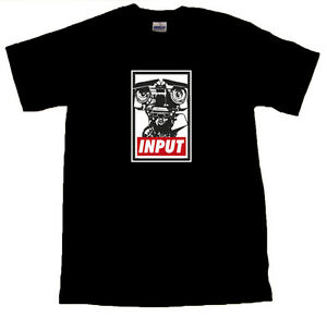 Johnny-Five-Input-Design-Cool-T-SHIRT-ALL-SIZES-Black