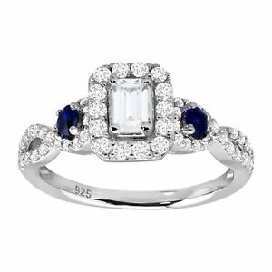 2-ct-Cubic-Zirconia-amp-Created-Sapphire-Engagement-Ring-in-Sterling-Silver