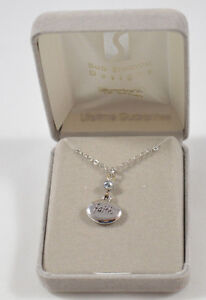 Bob-Siemon-Designs-FAITH-Necklace-IN-BOX-Silvertone-18-034-Chain-Inspirational-Gift