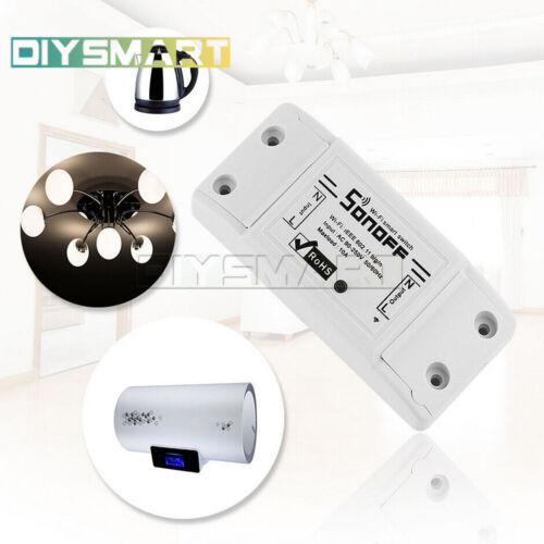 Details about  /Sonoff Smart Home Wall Light Touch Wireless Controller Switch WIFI LED AU