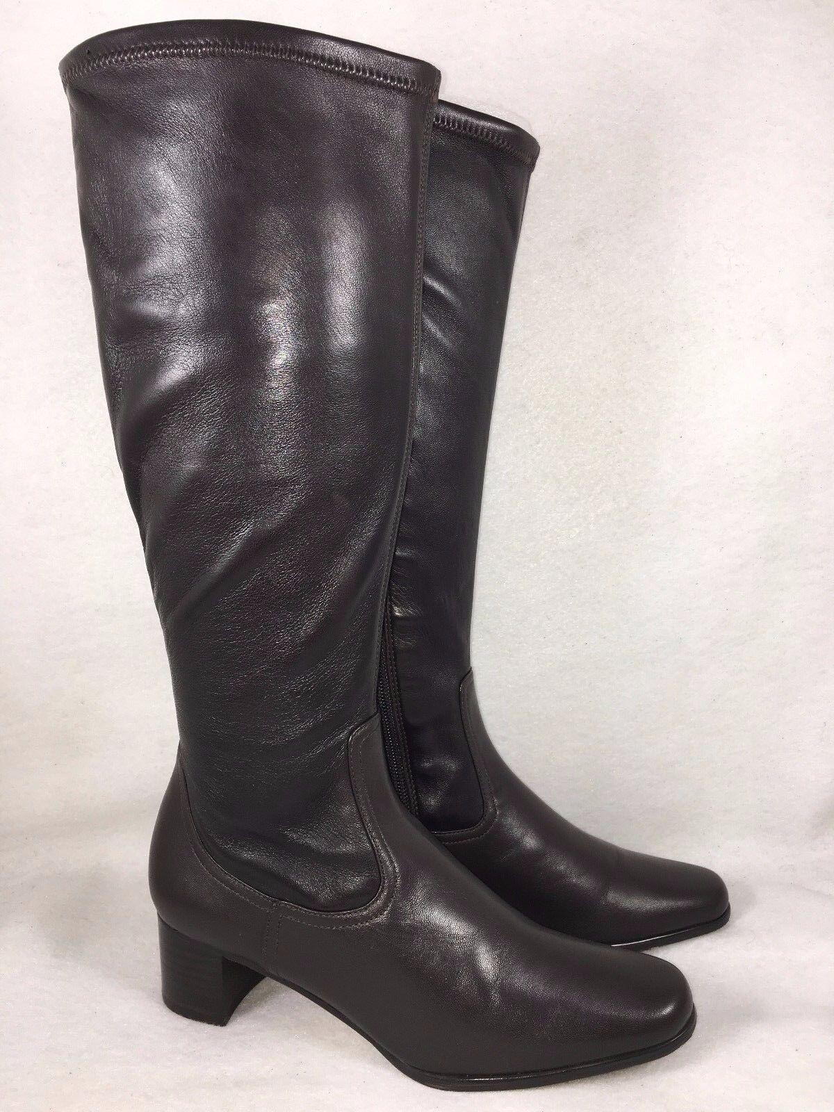 buona reputazione Vaneli Tobago Rich Soft Nappa Italian Leather Heels Heels Heels Marrone nero multiple Dimensiones  più preferenziale