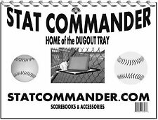 Baseball Scorebook by STATCOMMANDER.COM, 25 games