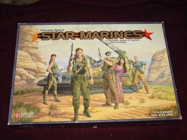 AH Avalon Hill 1997 : Princess Ryan's STAR MARINES game (SEALED CONTENTS)