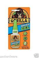 Gorilla Super Glue Gel 15gram /.53oz Bottle No Run Control + Fast-setting
