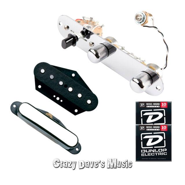 DiMarzio Vinatage Twang King Pre-Wired Pickup Set for Tele w/2 packs of Strings