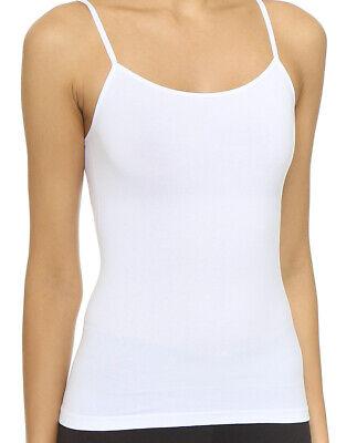 Yummie WHITE Conner Seamless Convertible Halter Bodysuit US Small//Medium