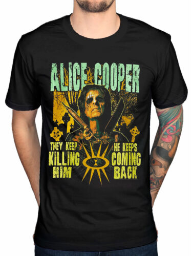 Official Alice Cooper Graveyard T-Shirt Welcome To My Nightmare Special Forces