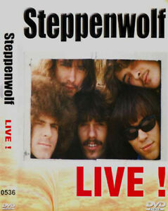 STEPPENWOLF-Live-Born-To-Be-Wild-ALL-PAL-REGIONS-DVD-like-new