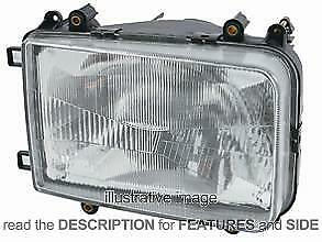 LHD Headlight Daf Xf 95 1997-2002 Right Side