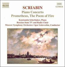 Scriabin: Piano Concerto; Prometheus, New Music