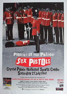 Sex pistols poster original