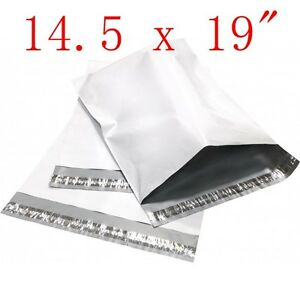 500 12x15.5 ~ 25 14.5x19 ~ Poly Mailers Envelopes Bags Plastic Shipping Bag