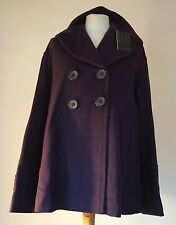 'FRENCH CONNECTION' WOOL & CASHMERE  JACKET  UK 12