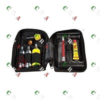 S4908800 Kit Ripara Gomme Riparagomme Completo Di Bombola Co2 Gonfiaggio Merci Di Alta Qualità