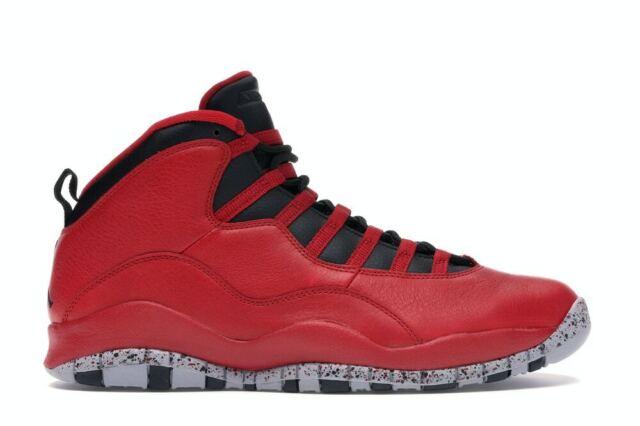 Jordan 10 Retro BT Gym Red/ Black-wolf