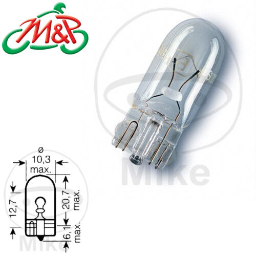 Honda CBR 125 RW 80km//h 2008 Side Lights Replacement Bulb