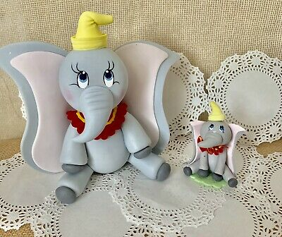 Dumbo Elephant  Cake Topper And Hot Air Balloon Baby Shower,Party,Set.