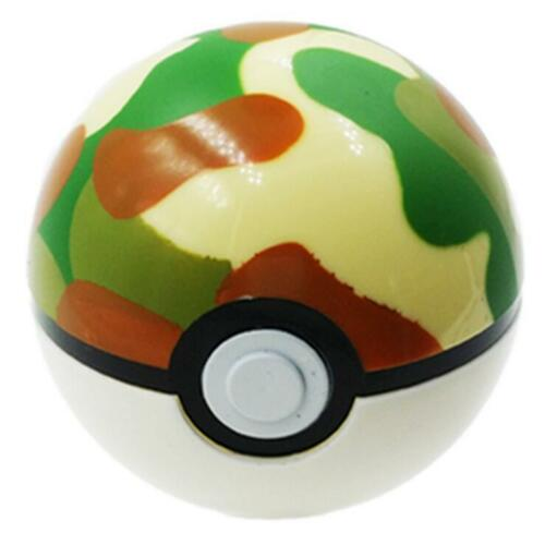Poke Mon Game Ball Go Pokeball Pop-up 7cm Plastic Ball Toy Throw Figure Games