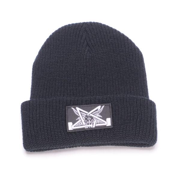 621ba3d0220 Thrasher Skategoat Zoom Beanie Black Grey Onesize for sale online