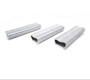 600pcs Zinc-Alliage D/'aluminium M forme ongles pour Hog Ring Pliers volaille Outils