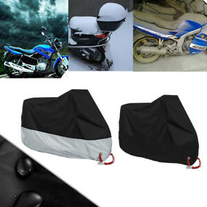 Waterproof Motorcycle Cover Motorbike Breathable Rain Proof UV Protector M-XXXXL