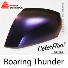 20x30cm FILM Satin ColorFlow Roaring Thunder Avery Dennison Wrapping Covering