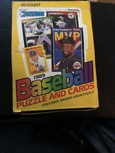 1989-Donruss-Baseball-COMPLETE-WAX-BOX-36-CT-GRIFFEY-Rookie-PSA-10