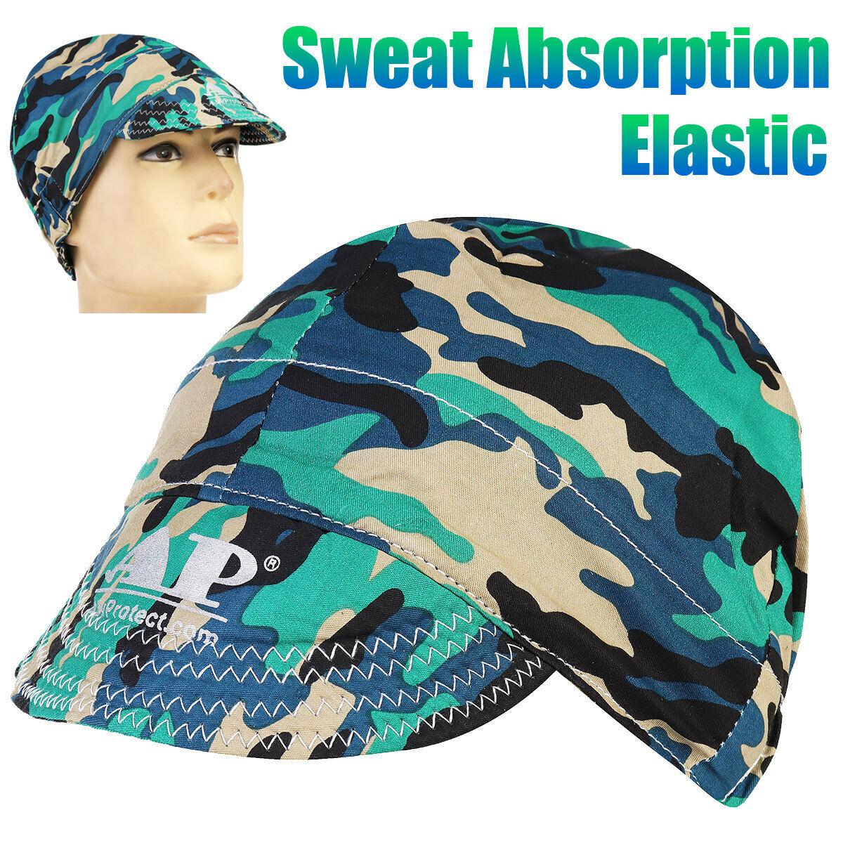 Welding Welder Hat Cap Protective Comeaux Scarf Flame Retardant Cotton Helmet