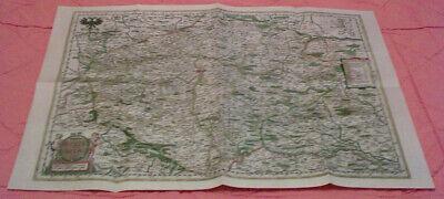 Das Königreich Böhmen Und Seine Nachbargebiete 1662 - Replikat Mit Den Modernsten GeräTen Und Techniken