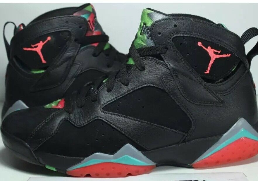 New Air Jordan VII 7 Retro 30th Barcelona Nights Men's Size 12.5 705350 007