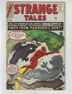 Strange-Tales-109-Silver-Age-Marvel-Comic-Book-1st-Sersi-as-Circe-VG