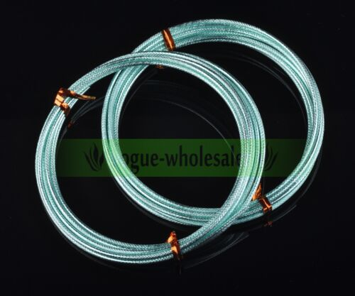 1 Roll 2meters 12Gauge Carved Aluminum Wrap Craft Wire Beads Jewelry Making DIY