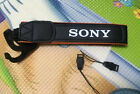 Sony Alpha Black / Orange Camera Neck Strap For SLR / DSLR a6000 5000 a7 a7r a7s