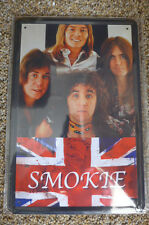 Smokie Band Metal Sign Painted Poster Comics Book Superhero Wall Decor Office