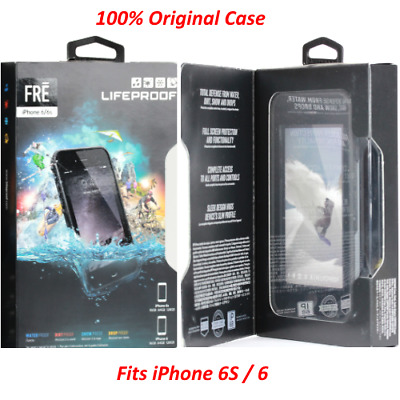 new style 5a909 e9ff3 Details about Authentic LifeProof Waterproof Fre Case Cover For iPhone 6S /  iPhone 6 [BLACK]