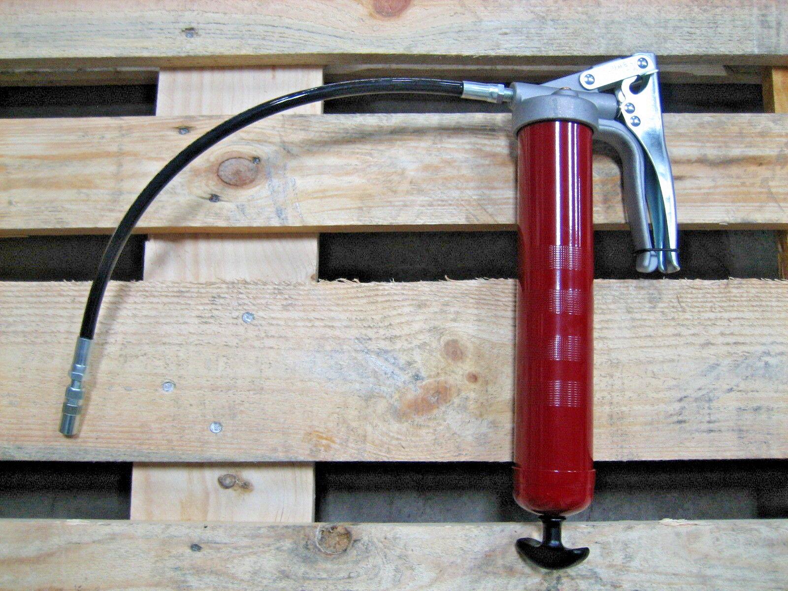 Alemite 555-E 18  Flexible Extension Pistol Grip Grease Pump Gun Hi Low 7500 PSI