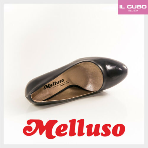 Made Tacco Pelle Cm H Colore Scarpa Decolte' In Melluso Italy Notte Donna 9 fYwvqzCt