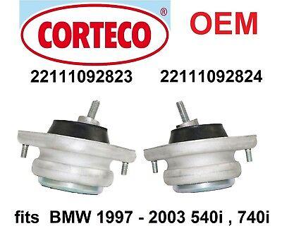 BMW E39 5-series E38 7-series OEM FEBI Right Engine Motor Mount 540i 740i NEW