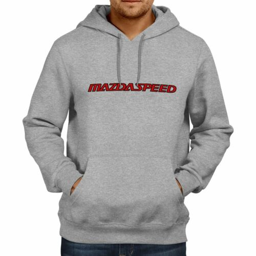 Mazda Mazdaspeed Racing MPS Rx7 Rx8 Rotary Hooded Sweater Jacket Pullover Hoodie