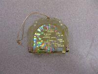 Alaska State Brass Christmas Ornament Travel Souvenir Keepsake Gift