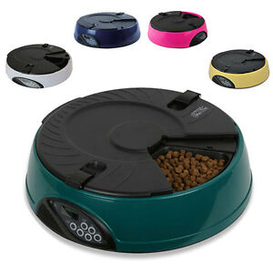 6-MEAL-DAY-AUTOMATIC-PET-FEEDER-DISH-FOR-CAT-DOG-BOWL-HOLIDAY-AUTO-DISPENSER