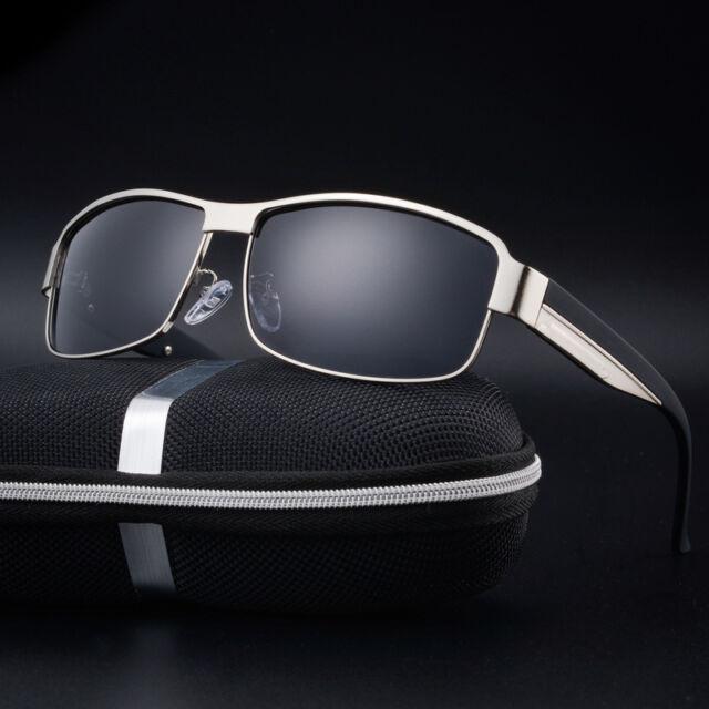 Outdoor Men's Retro Polarized Metal Aviator UV400 Sunglasses Eyewear Eye Glasses