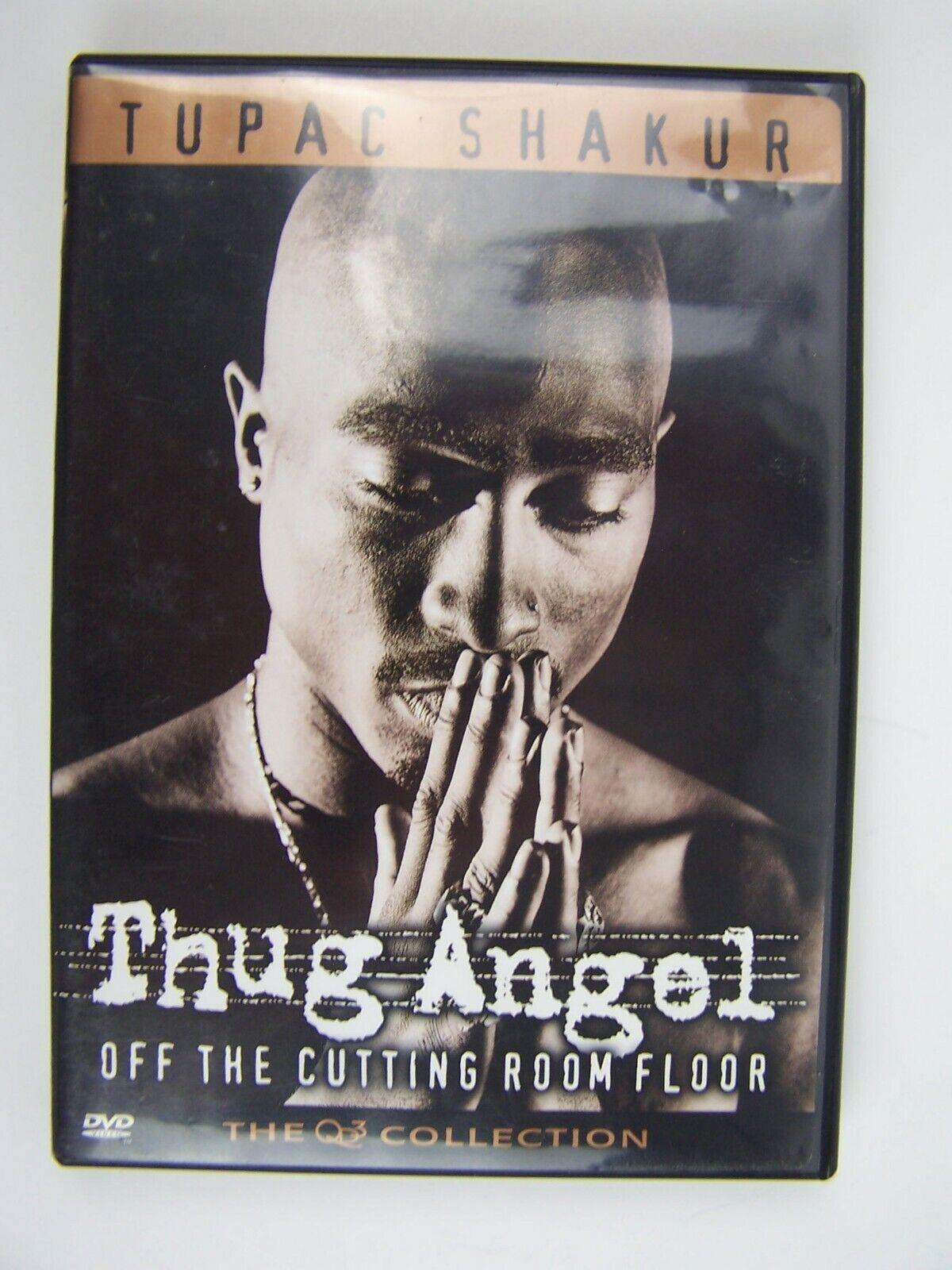 Tupac Shakur Thug Angel - Off the Cutting Room Floor Bo
