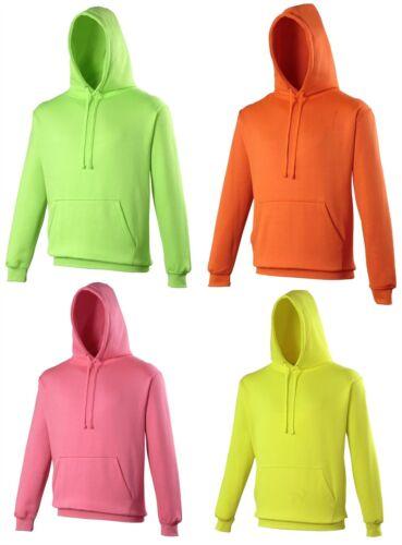AWDIS JH004 Homme Femme électrique vibrant couleur Sweat à capuche