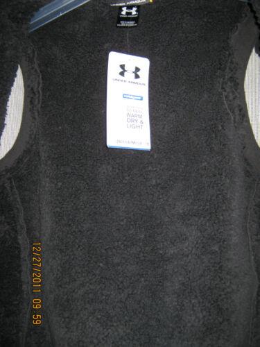 Under Armour Polyester Nwt Frontlommer Zip Jakke Vest Dbl Kvinder Sm Fleece Zqw7nxPEt