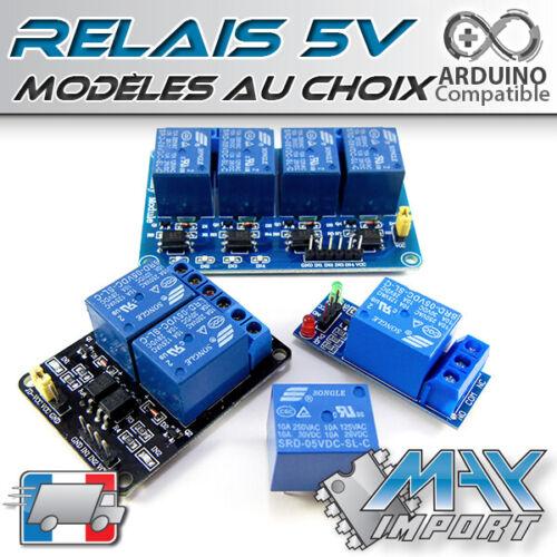 250V//10A 2 ou 4 canaux Module Relais 5V 1 canal relay way Arduino